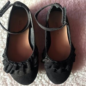 Old Navy Girl Faux Suede Ballet Flats Size 9
